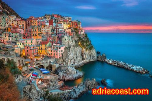 Pantai indah Acquafredda Maratea